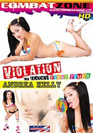 Violation Of Hairy First Timer: Andrea Kelly (112034.5)