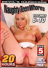 Naughty Teen Whores 6 - 10 (5 DVD Set) (20 Hours) (177233.2)
