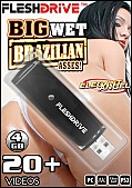 20+ Big Wet Brazillian Asses on 4gb usb FLESHDRIVE (115218)